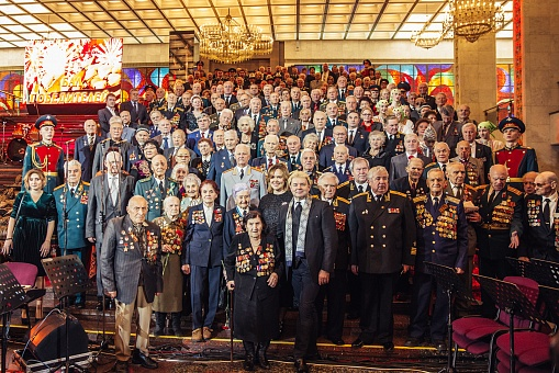 Moscow Hosted 13th Victors' Gala to Celebrate 75th Anniversary of Complete Lifting of Siege of Leningrad