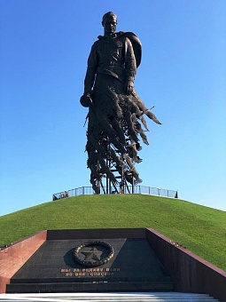 OMK's Belgorod Facility Manufactures Tubular Frame for Rzhev Unknown Soldier Memorial